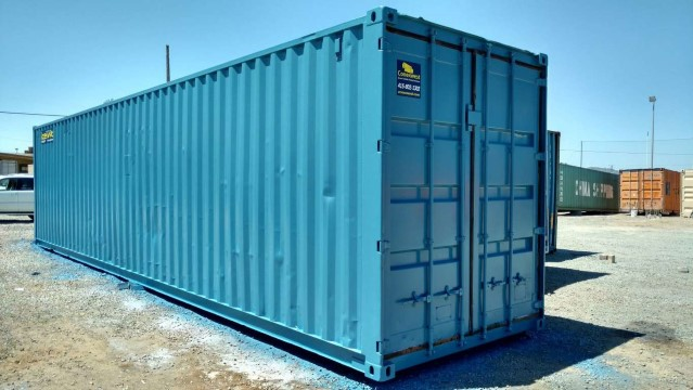 40ft refurbished storage container