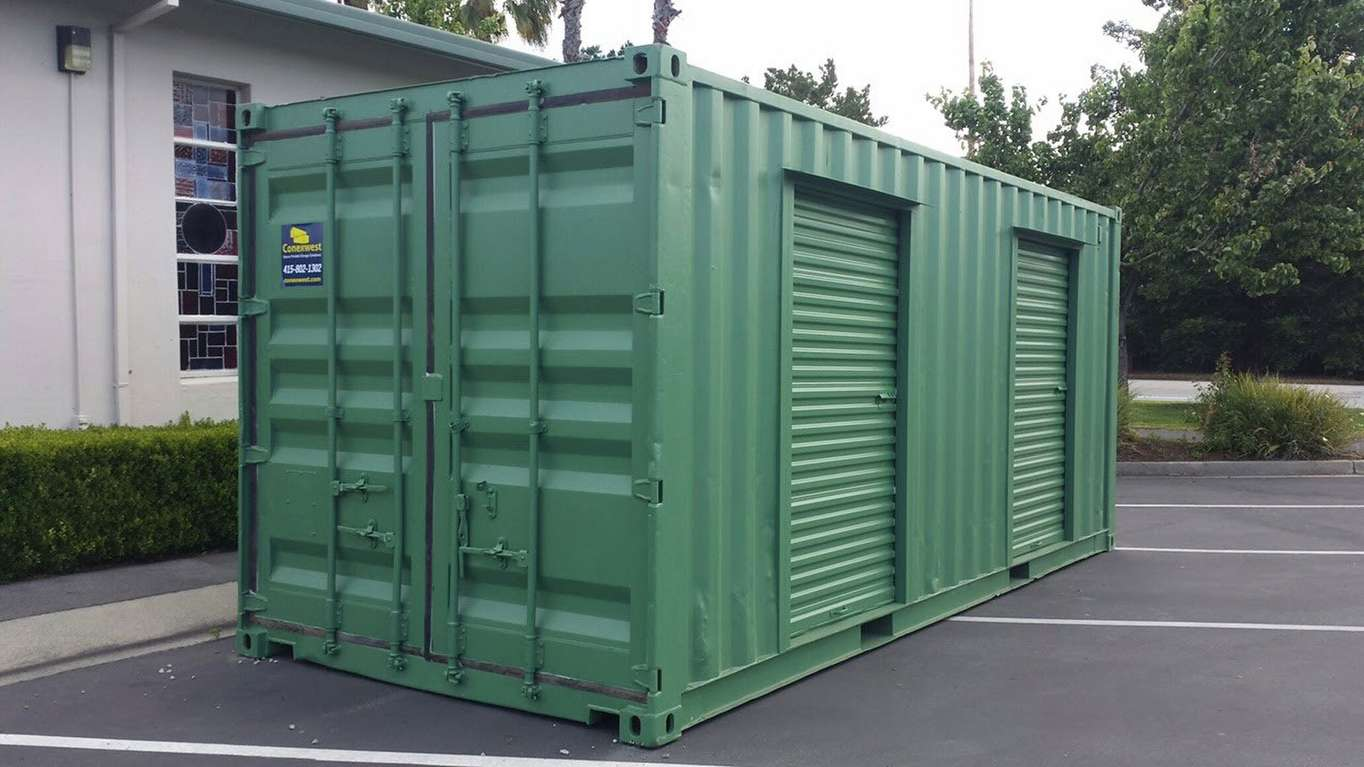 20ft used storage container