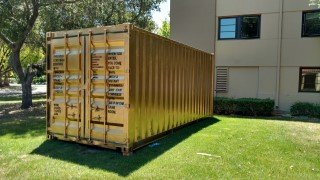 20ft gold shipping container