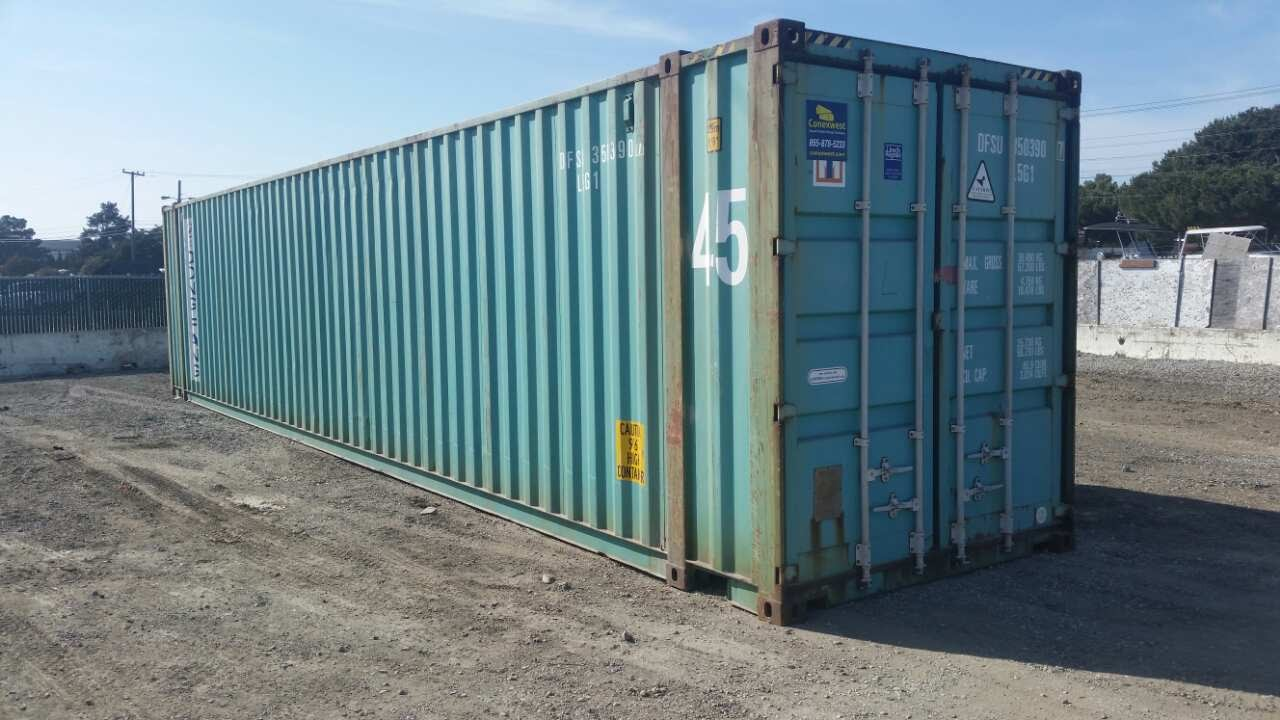 45ft shipping containers for sale