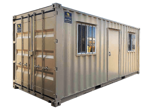 20ft jobsite office containers