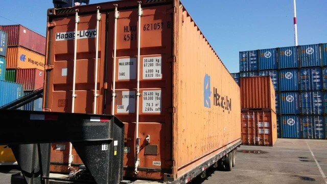 dry freight shipping containers for sale