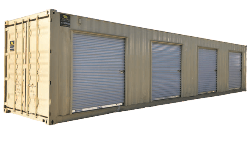 self storage shipping containers with rollup doors