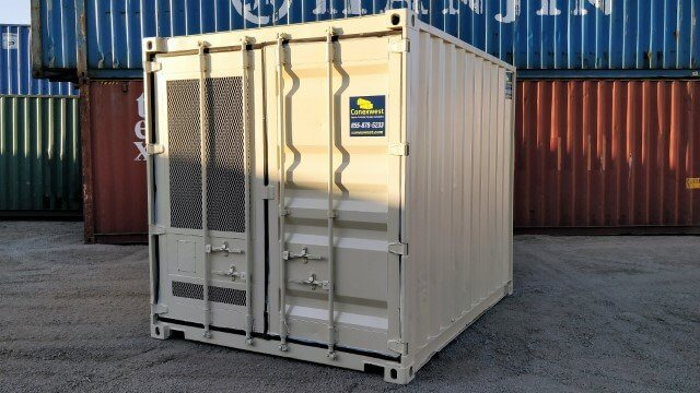 full service shipping container modifications
