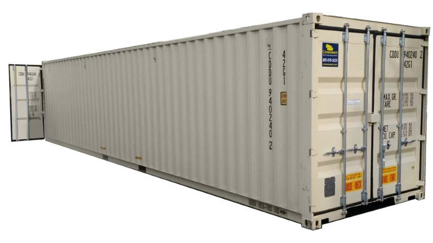 Containers with Doors On Both Ends