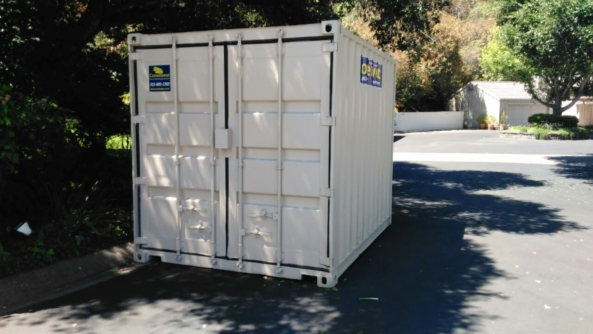 10ft storage container with cargo doors for sale