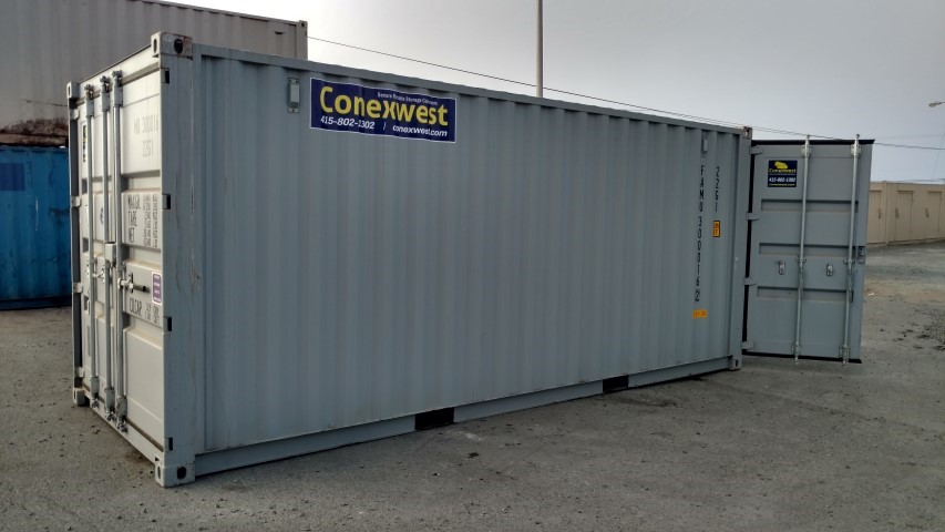 20' Shipping container with doors on both ends for sale