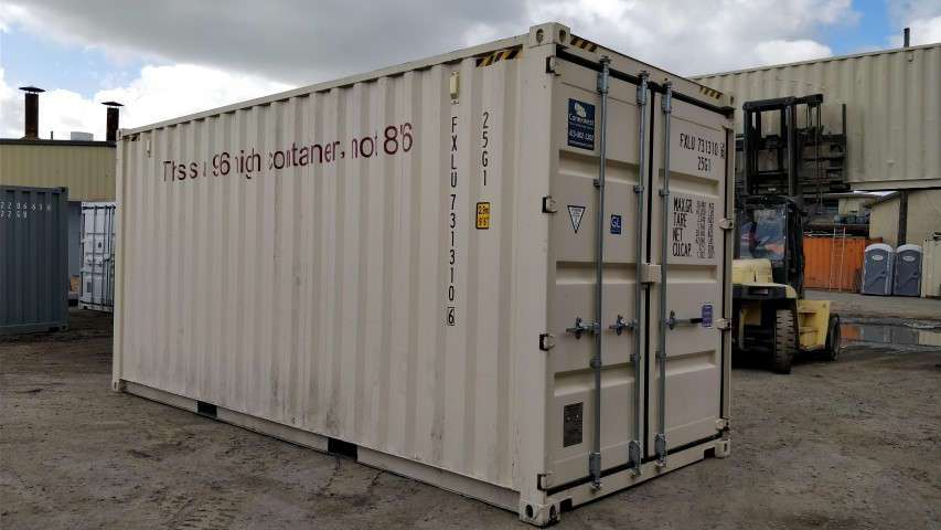 20' New high cube shipping container for sale