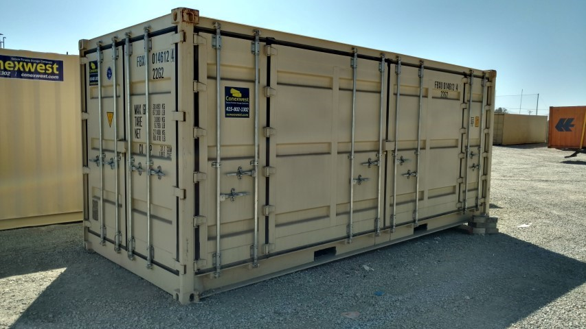 Open Side 20ft Container