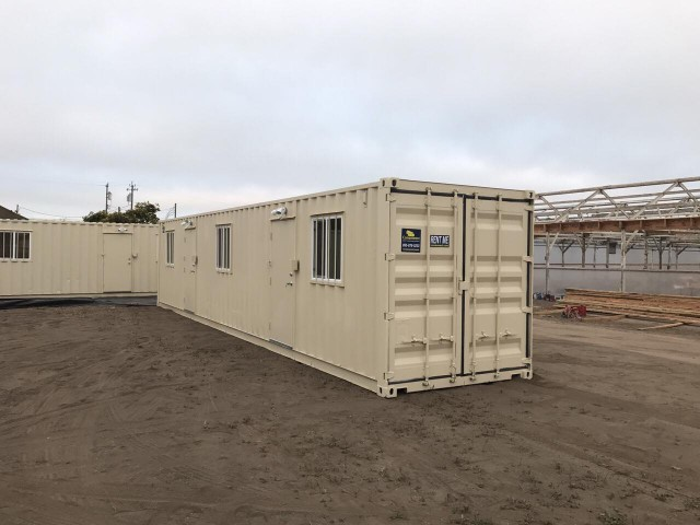 40' Office container for rent
