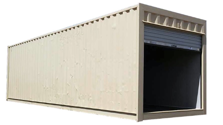 30 FT Roll Up Door Dry Freight Container