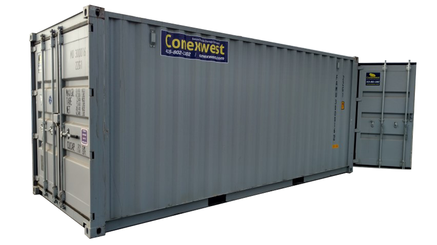 20 ft double door dry freight container for sale