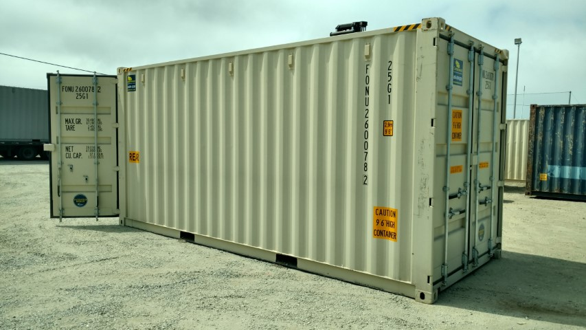 20' New High cube container with doors on both ends of sale