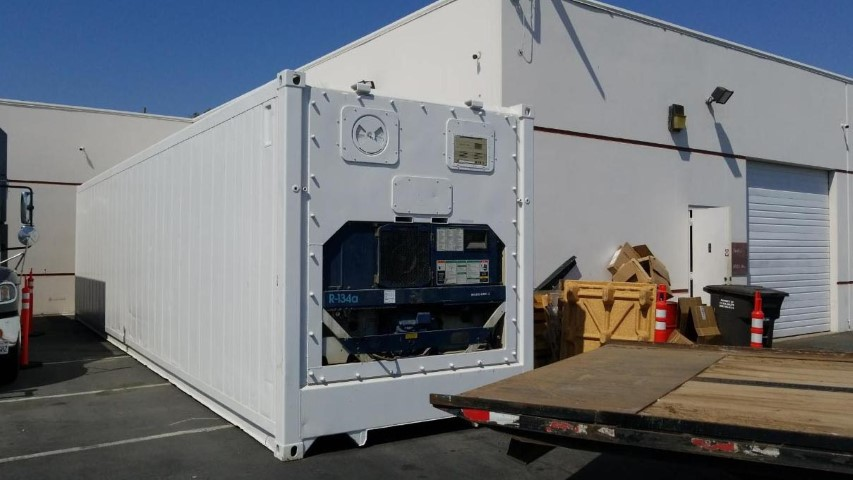40ft refrigerated container for rent