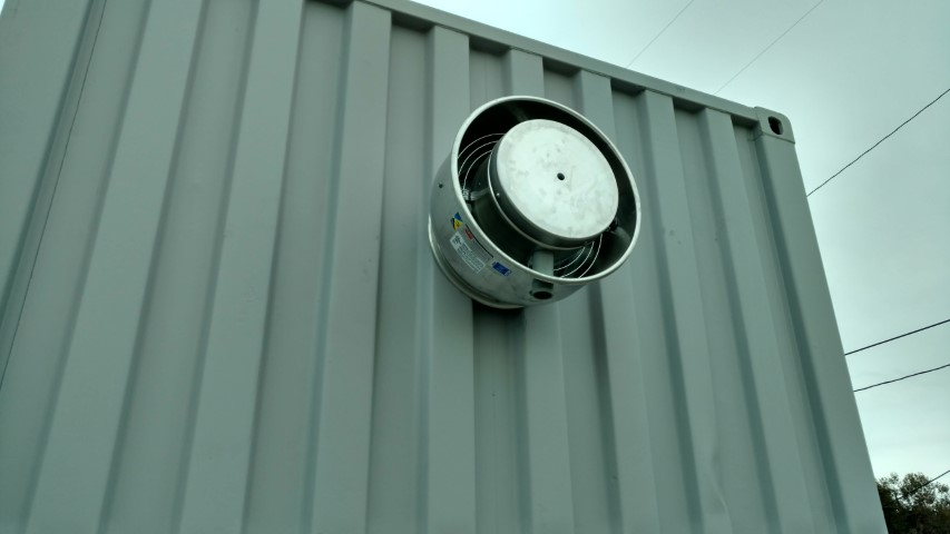 Power vent for shipping containers for sale