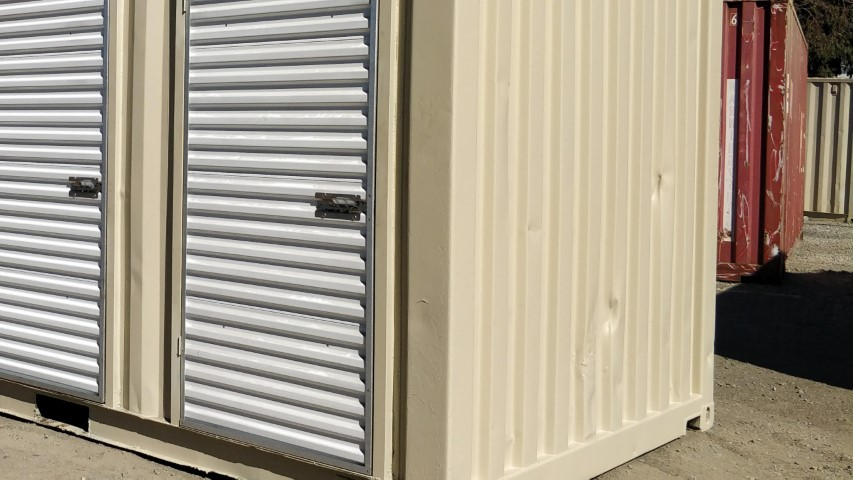 3ft roll up door in shipping container