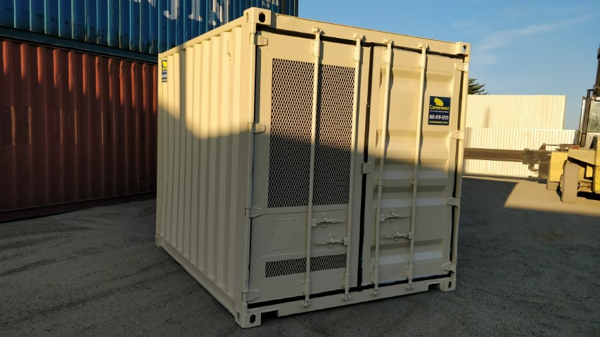 10ft machinery enclosure container for sale