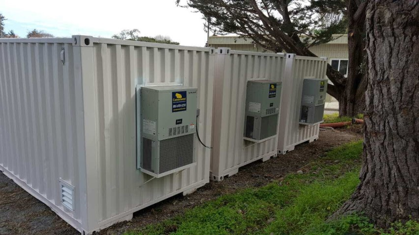 Bard HVAC air conditioner units for shipping container for sale