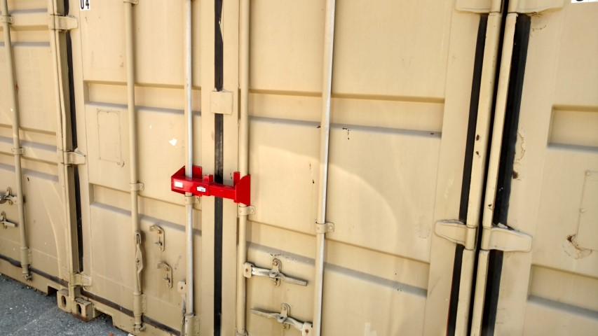 Cargo container lock for storage containers for sale