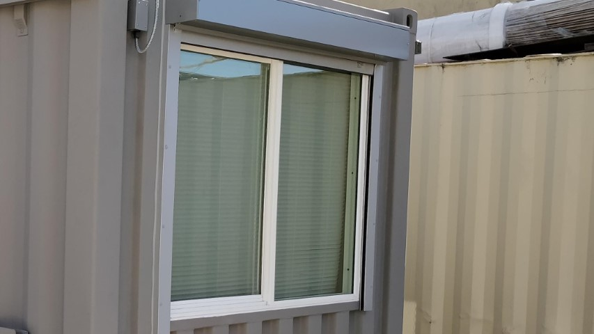 Electric Window Shutter