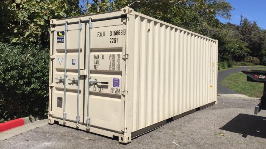 standard 20ft storage container for Rent