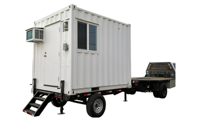 10ft office container trailer