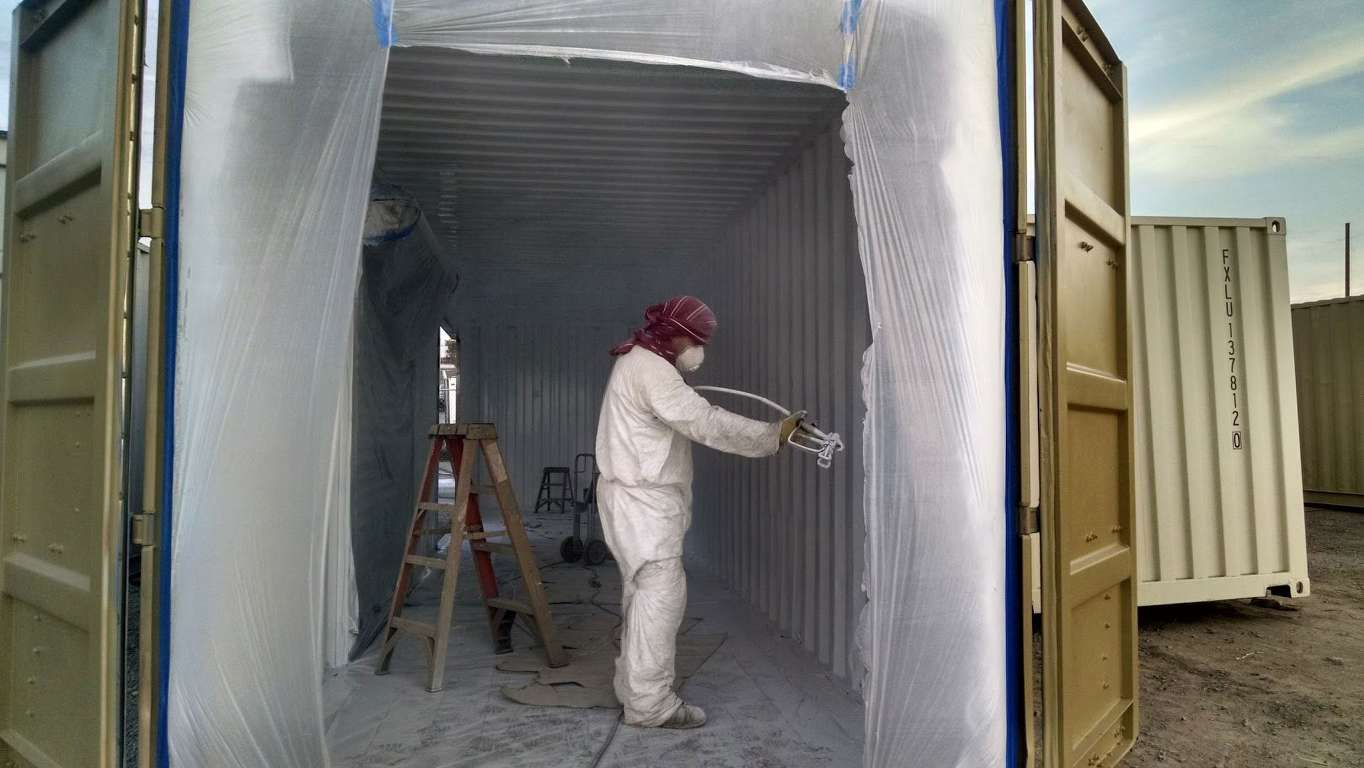 Interior paint for shipping containers for sale