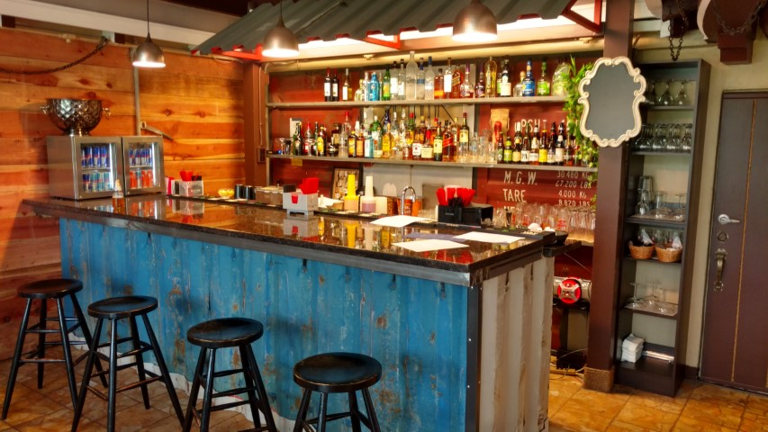 bark storage container bar orange color alcohol conexwest storage container bar shipping container bar modified containers