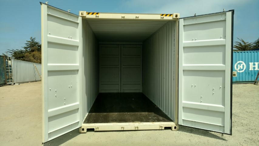 20ft High Cube Shipping Container With Doors On Both Ends