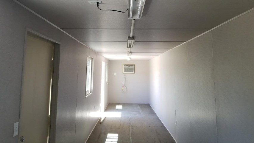 shipping container interior finish