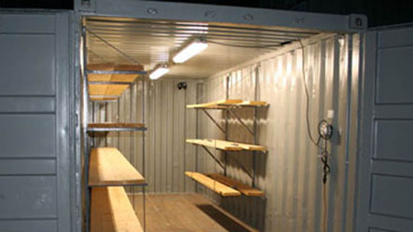 containers light kits for rent