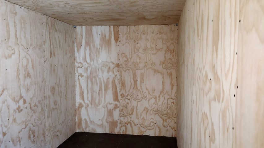 Plywood paneling for shipping container for sale