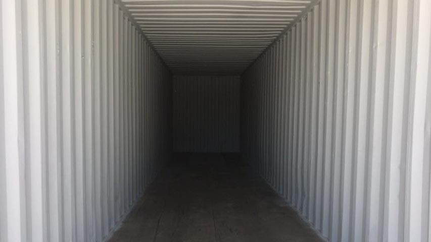 40ft shipping container inside