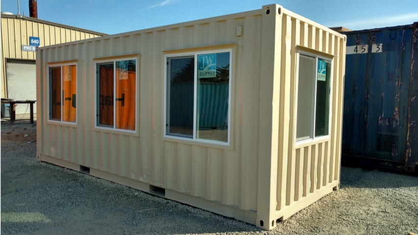 3x3 Dual Pane Window for shipping container