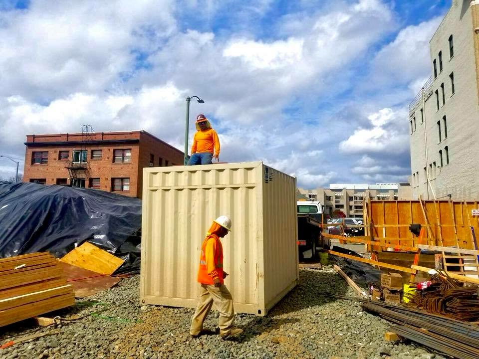 Buy shipping containers in Denver, Colorado.
