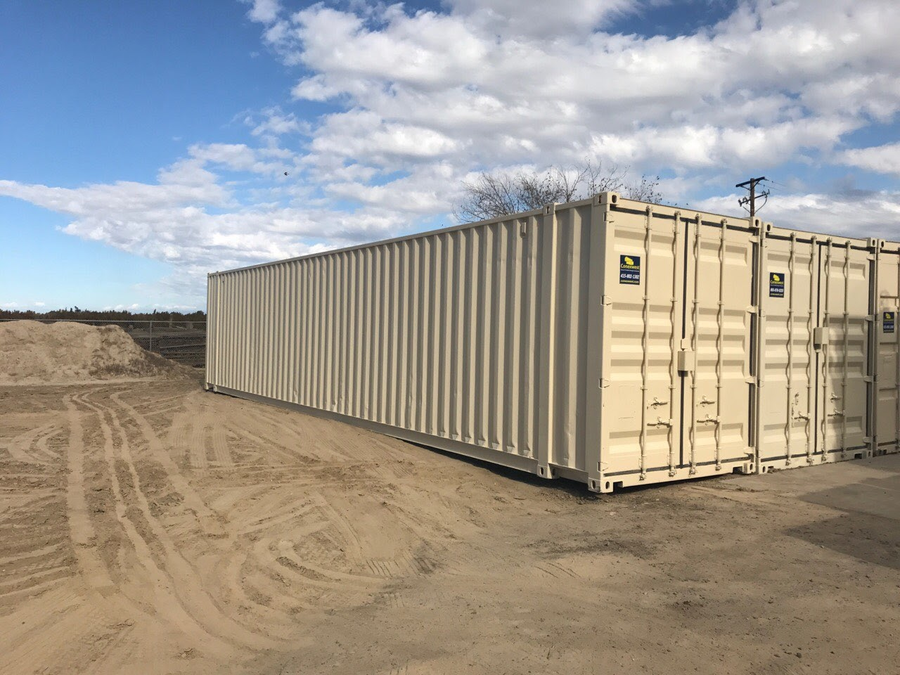 Buy shipping containers in Phoenix, Arizona.