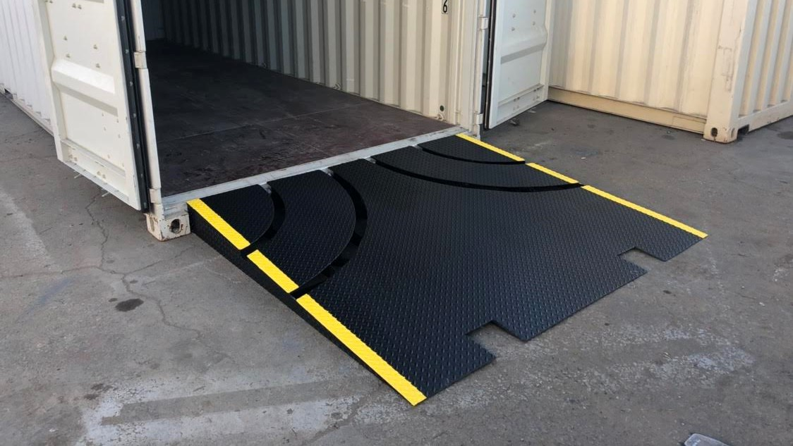 shipping container ramps conexramps