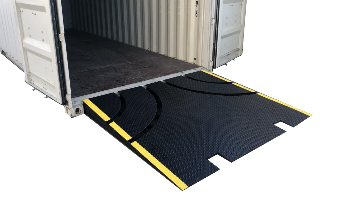 conexramps heavy duty shipping container ramps