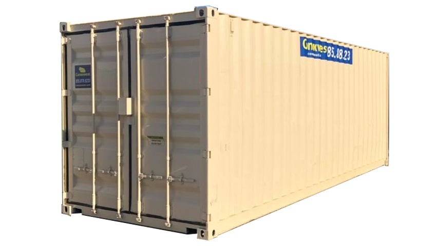 beige 24ft storage container for sale
