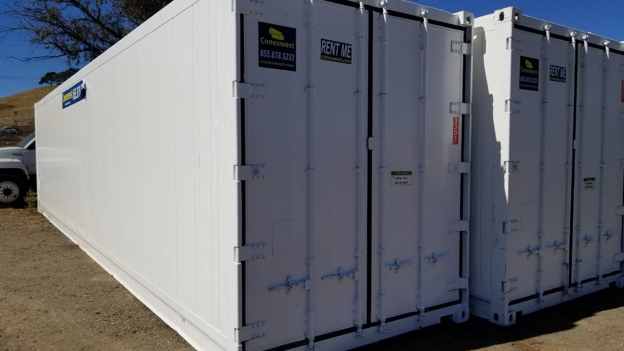 40' High cube refrigerated container for rent