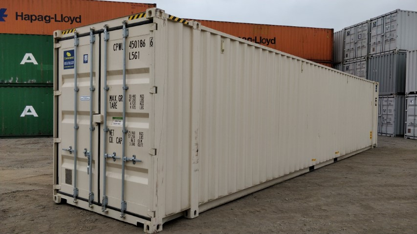 New 45ft high cube shipping container for sale