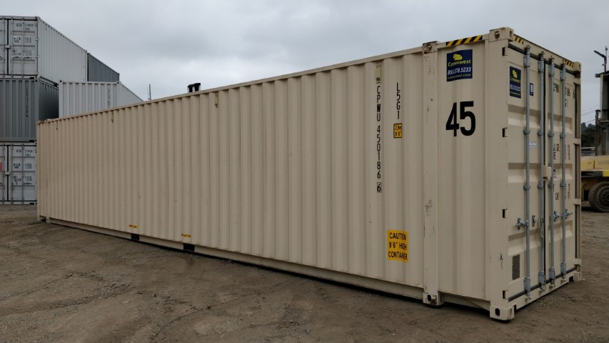 45' New high cube shipping container for sale