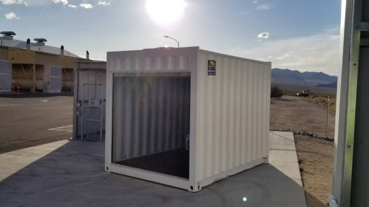 10' New storage container with roll up door for sale