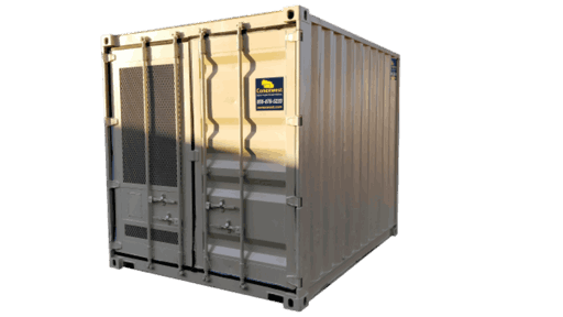 10' Machinery enclosure container for sale