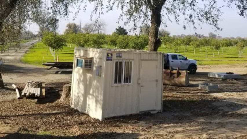 10' Job-site office container for sale