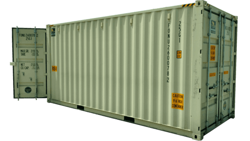 20' New high cube container with doors on both ends for sale