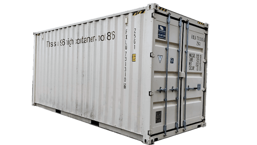 20' New high cube shipping container for rent