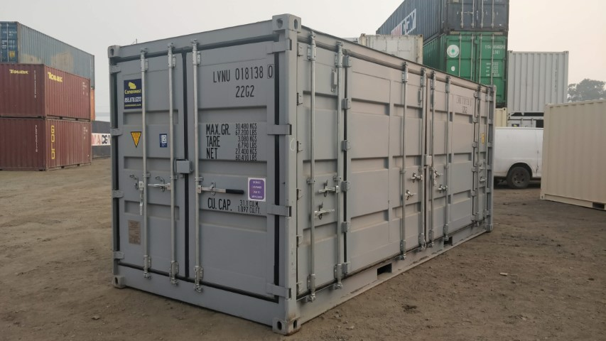Rent 20ft open side storage container