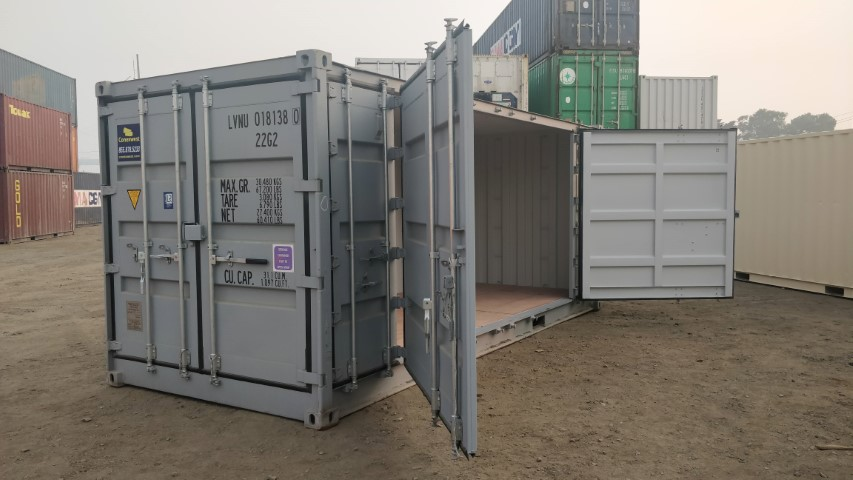 20' Open side shipping container for rent