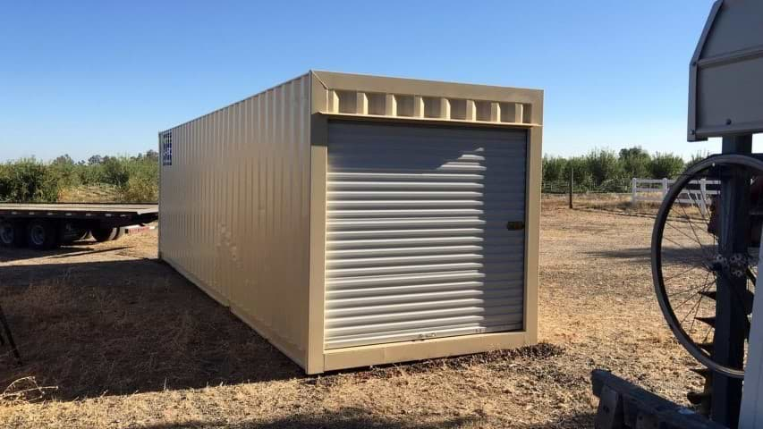 30ft storage container with roll up door for sale
